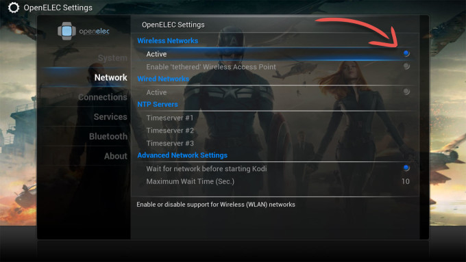 openelec_settings_activate_wireless_network