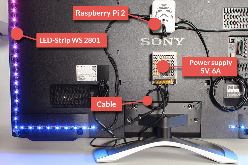 Part 1 Diy Breath Taking Ambilight For Your Own Tv