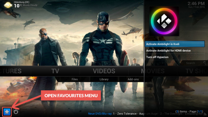 control_ambilight_in_kodi_favourites