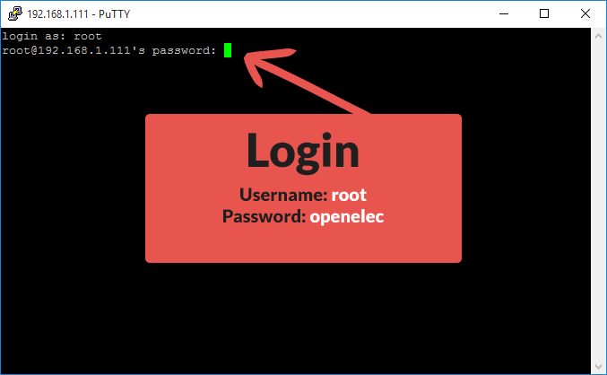 openelec_ssh_login